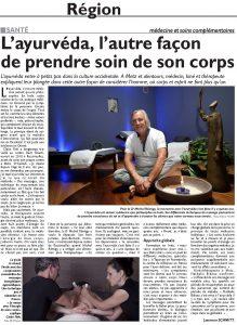 article-du-reblucain-lorrain-sur-layurveda